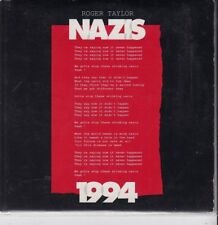 ROGER TAYLOR Nazis 1994 2tr HOLLAND CARDslv CD SINGLE QUEEN