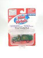 C.M.W. Mini Metals 1/87 HO Scale '51 Ford Stake Bed Truck NEW NOC