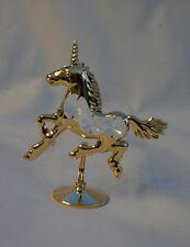 Crystal Temptations Gold Plated & Swarovski Unicorn Bnew Gift