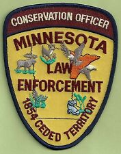 MINNESOTA STATE CONSERVATION ENFORCEMENT POLICE PATCH