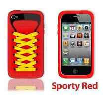 Play Hello Red Ishoe Sporty Silicone Case For iPhone 4
