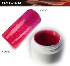 GEL TERMICO 21 RED - redviolet METALLICO 5 ML / UNGHIE Colorgel Thermo di colore