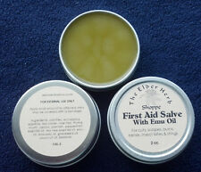 The Elder Herb Shoppe Chickweed First Aid Salve w/ Pure Emu Oil 2 oz tin