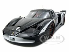 ELITE EDITION FERRARI FXX EVOLUZIONE BLACK 1/18 MODEL CAR BY HOTWHEELS T6249
