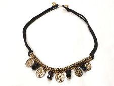 Bijou alliage doré collier créateur breloques Kookai Paris  necklace