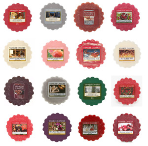 Yankee Candle Wax Tart Melts - Mix & Match Your Fragrances - Limited Editions