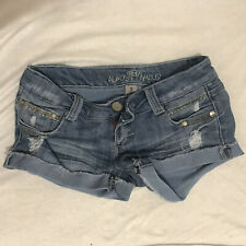 """Almost Famous� Juniors Denim Shorts Size 3"