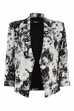 Hip Length None Floral Formal Coats & Jackets for Women