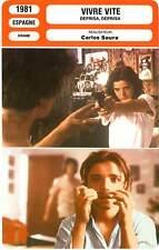 FICHE CINEMA : VIVRE VITE - Socuéllamos,Arias, Saura 1981 Faster Faster