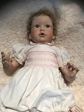 Ashton Drake Life Size Porcelain Doll Heirloom Baby w/ Box