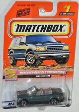 Matchbox 2000 #1 Open Road Series 1 Mercedes Benz CLK Convertible Mattel 96003