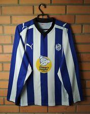Sheffield Wednesday football shirt 2009-2010 jersey soccer long sleevee s.M Puma