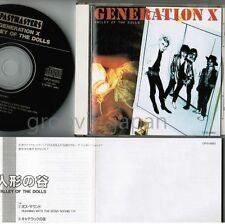 GENERATION X Valley of the Dolls BILLY IDOL  JAPAN CD CP21-6063 1989 reissue