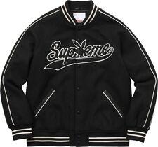 Supreme/Playboy Wool Varsity Jacket Black