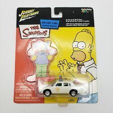 Johnny Lightning The Simpsons Chief Wiggum's Police Cruiser Car Krusty NEW NIP
