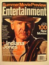 Entertainment Weekly INDIANA JONES 4 The Last Crusade May 02 2008 Issue