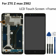 "For ZTE Blade Z Max Z982 6.0"" Display LCD Screen Touch Digitizer Assembly +Frame"