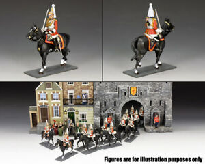 KING & COUNTRY WORLD OF DICKENS WOD052 BRITISH LIFE GUARDS MOUNTED OFFICER MIB