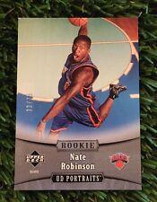 2005-06 Upper Deck Portraits Spectrum #129 Nate Robinson #ED /75 Knicks