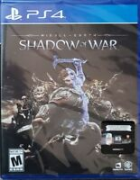 Middle-earth: Shadow of War - PlayStation 4 PS4 New!