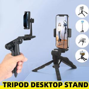 Portable Tripod Desktop Stand Desk Holder Selfie Stick Mount For iPhone Samsung