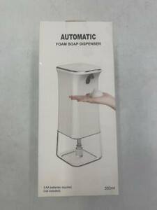 IVSO Automatic Foaming Soap Dispenser, Touchless Soap Dispenser, White