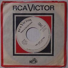 RONNY & DAYTONAS: Last Letter RARE DJ PROMO RCA teen / surf 45 NM- scarce