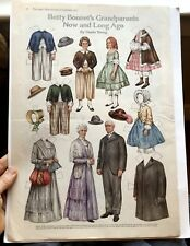 September 1917 Magazine Paper Doll Page Betty Bonnet's Grandparents