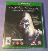 Middle-earth Shadow of Mordor [ Game of the Year Edition ] (XBOX ONE) NEW