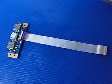 """Sony VAIO SVE151D11L 15.6"""" Genuine Laptop USB Port Board w/Cable DA0HK6TB6F0"""