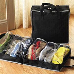 LN_ Portable Home Travel Luggage Shoes Storage Zipper Dust Bag  Organizer
