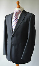 "Men's Grey Ozwald Boateng Pure Wool Suit, Chest 40R, W33"" L28""."
