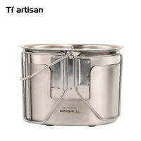 Tiartisan U.S.G.I Military Box Outdoor Portable Camping Camping Hanging pot