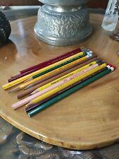 12 random, Vintage Pencils. Dixon, viking, Eagle, Richard Best Futura, Big Top