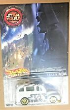 Hot Wheels School Busted Star Wars real Rider White  Limited  Hot Wheels 1/25