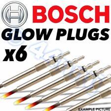 6x BOSCH  Diesel D Heater Glow Plugs AUDI Q7 3.0 V6 TDI 05-->