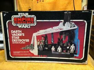 Darth Vader's Star Destroyer Action Playset Vintage 1980 Kenner New Sealed MISB