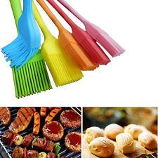 KQ_ 21cm Silicone Barbecue BBQ Basting Brush Baking Kitchen Utensils Gadgets Fas