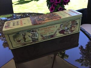GLENMORANGIE vintage 10 year old Single Highland MALT SCOTCH WHISKY TIN  empty