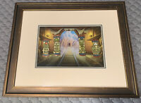 Disney WDW Expedition: PINS Character Statues Framed 4 Pin Set LE 100 RARE HTF!!