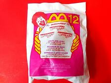 2000 McDonalds Happy Meal Smiley & Lucky Monster Crazy Bones Toy #12 Game Card