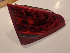 2008-2012 Audi A5 S5 Rs5 B8 Driver Left Inner Trunk LED Tail Light Lamp OEM