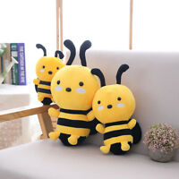 Lovely Soft Little Bee Animal Doll Stuffed Plush Toy Home Party Kid Gift NEW