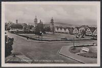 STU 34573) Echt Foto AK Freudenstadt Schwarzwald Marktplatz und Stadtkirche 1942