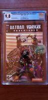 BATMAN/TEENAGE MUTANT NINJA TURTLES Adventures #1 IDW VARIANT FOIL COVER CGC 9.8