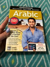 NEW• Learn Arabic Instant Immersion Family Edition Language  Levels 1-2&3 PC Mac