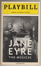 """Jane Eyre""   Playbill   2001  Marla Schaffel  &  James Barbour"