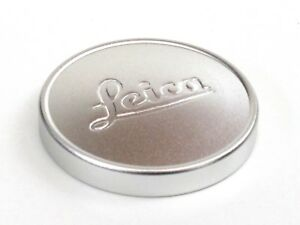 Leica A36 Fit Metal Lens Cap - Silver - (for Screw mount Leica) - BRAND NEW