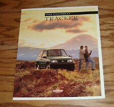 Original 1998 Chevrolet Tracker Sales Brochure 98 Chevy