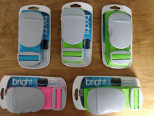 5 x Go Travel Fully Adjustable, Durable, Strong & Bright Luggage Strap